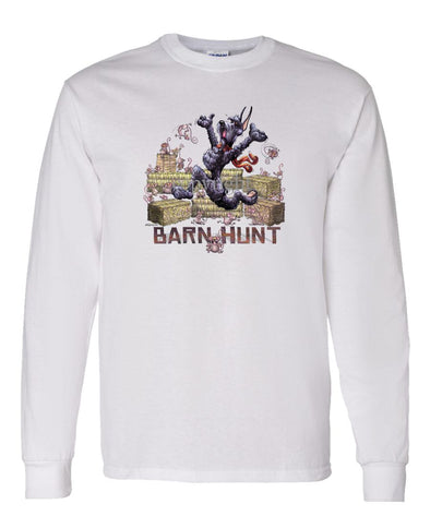 Giant Schnauzer - Barnhunt - Long Sleeve T-Shirt