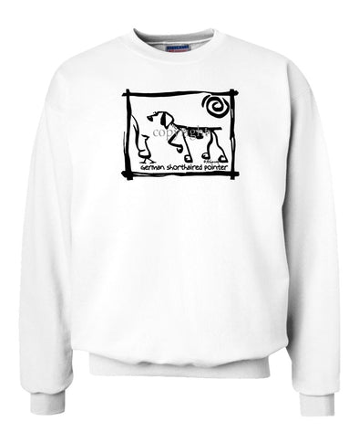 German Shorthaired Pointer - Cavern Canine - Sweatshirt