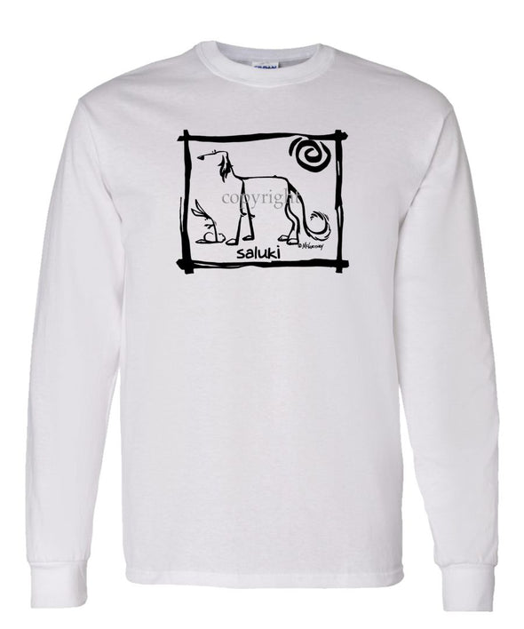 Saluki - Cavern Canine - Long Sleeve T-Shirt