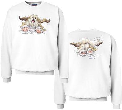 Lhasa Apso - Coming and Going - Sweatshirt (Double Sided)