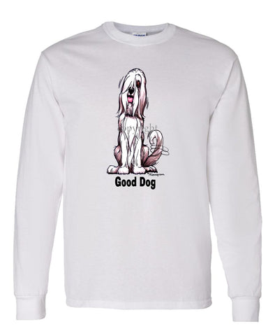 Bearded Collie - Good Dog - Long Sleeve T-Shirt