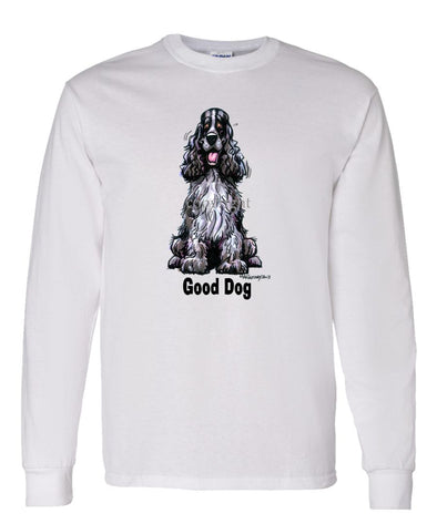 English Cocker Spaniel - Good Dog - Long Sleeve T-Shirt