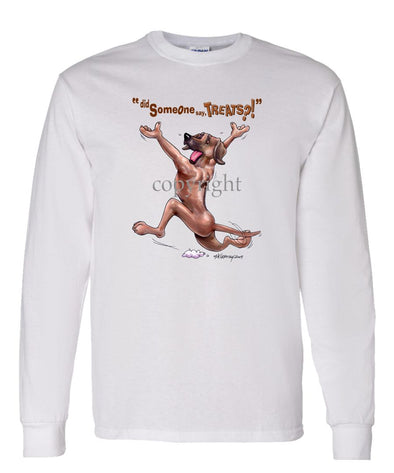 Rhodesian Ridgeback - Treats - Long Sleeve T-Shirt