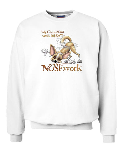 Chihuahua  Smooth - Nosework - Sweatshirt