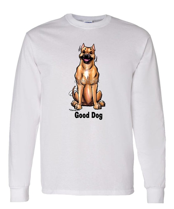 American Staffordshire Terrier - Good Dog - Long Sleeve T-Shirt