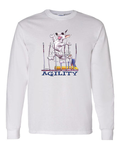 Bull Terrier - Agility Weave II - Long Sleeve T-Shirt