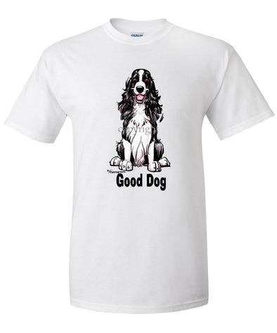 English Springer Spaniel - Good Dog - T-Shirt