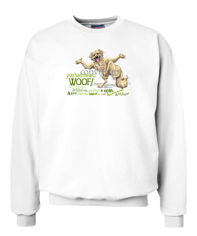 Golden Retriever - You Had Me at Woof - Sweatshirt