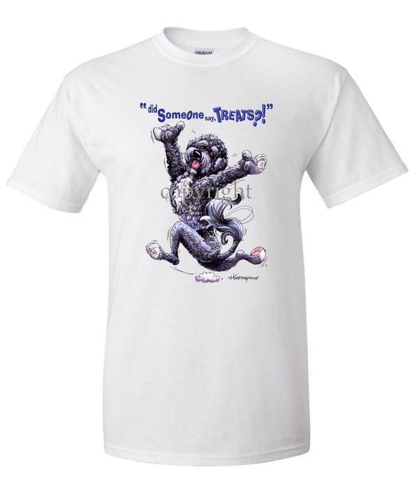 Portuguese Water Dog - Treats - T-Shirt