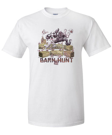 Bearded Collie - Barnhunt - T-Shirt