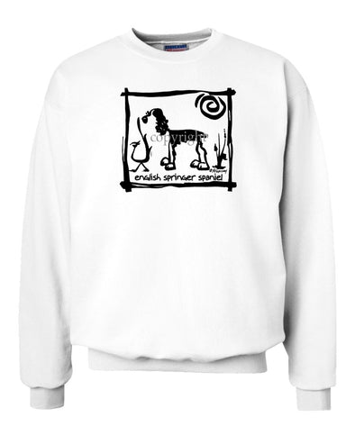 English Springer Spaniel - Cavern Canine - Sweatshirt