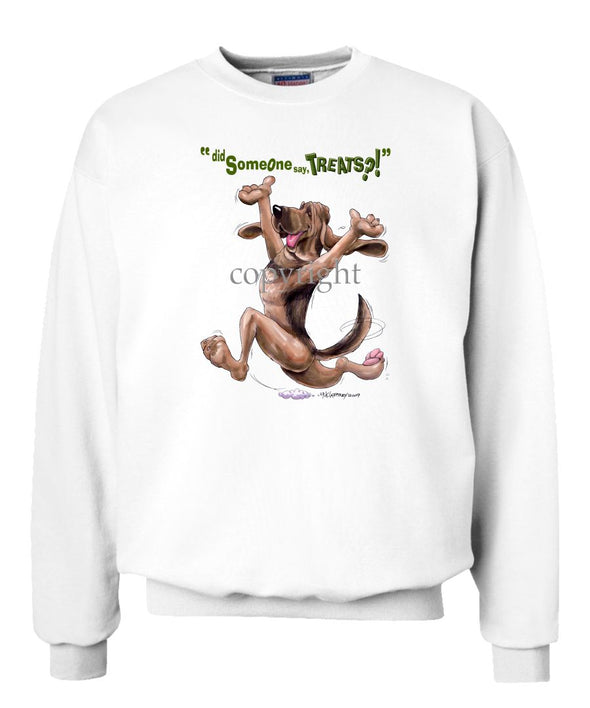 Bloodhound - Treats - Sweatshirt