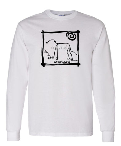 Greyhound - Cavern Canine - Long Sleeve T-Shirt