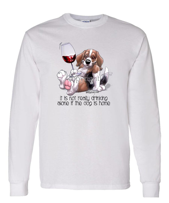 Beagle - It's Not Drinking Alone - Long Sleeve T-Shirt