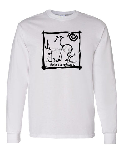 Italian Greyhound - Cavern Canine - Long Sleeve T-Shirt