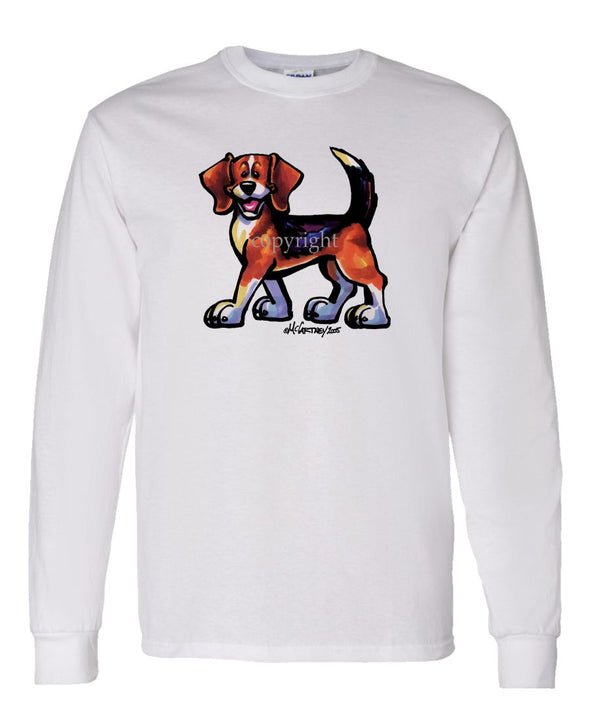 Beagle - Cool Dog - Long Sleeve T-Shirt