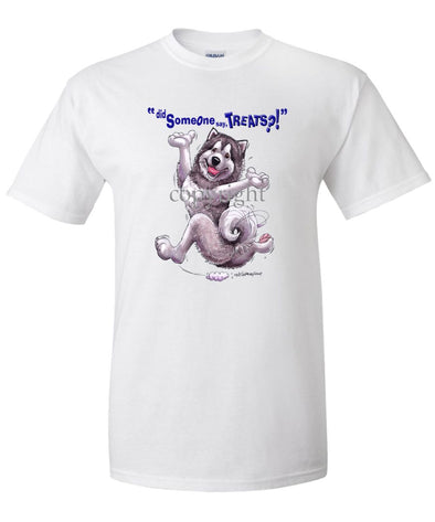 Alaskan Malamute - Treats - T-Shirt