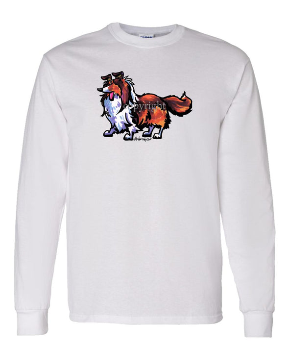 Shetland Sheepdog - Cool Dog - Long Sleeve T-Shirt