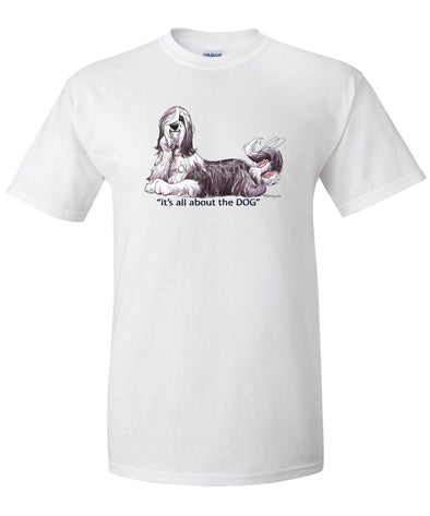 Bearded Collie - All About The Dog - T-Shirt