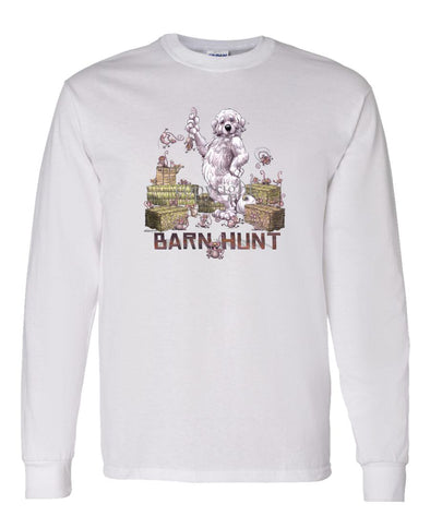 Great Pyrenees - Barnhunt - Long Sleeve T-Shirt