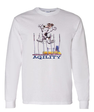 Wire Fox Terrier - Agility Weave II - Long Sleeve T-Shirt