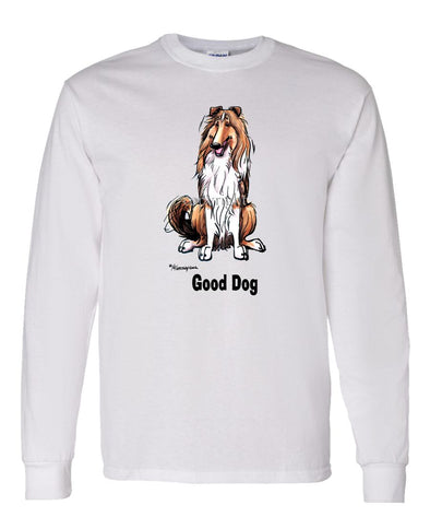 Collie - Good Dog - Long Sleeve T-Shirt