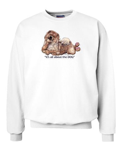 Chow Chow - All About The Dog - Sweatshirt