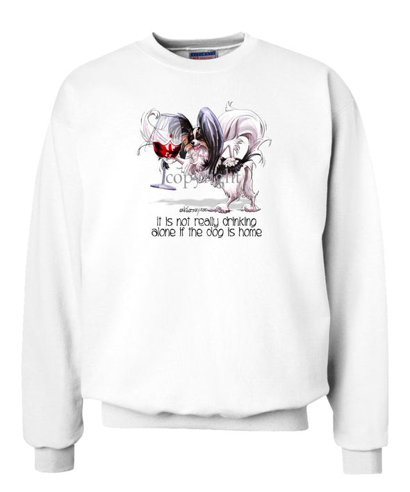 Papillon - It's Not Drinking Alone - Sweatshirt