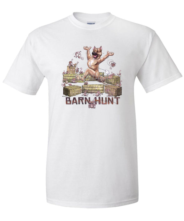 American Staffordshire Terrier - Barnhunt - T-Shirt
