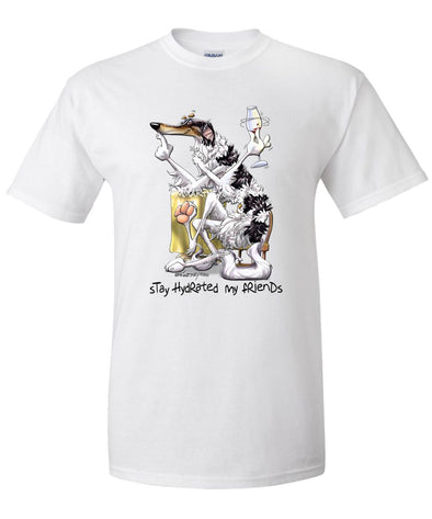 Borzoi - Stay Hydrated - Mike's Faves - T-Shirt