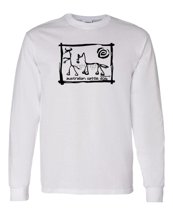 Australian Cattle Dog - Cavern Canine - Long Sleeve T-Shirt