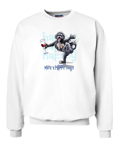 Portuguese Water Dog - Who's A Happy Dog - Sweatshirt