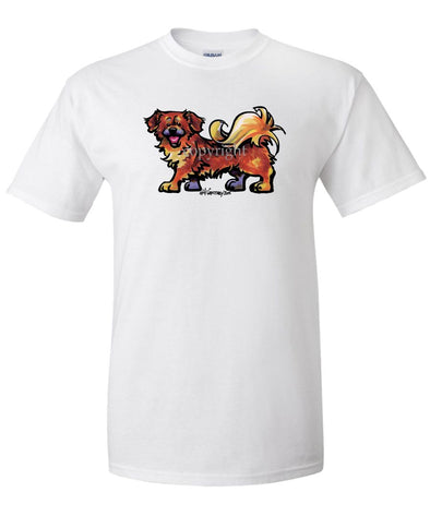 Tibetan Spaniel - Cool Dog - T-Shirt