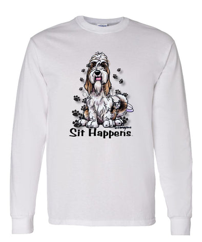 Petit Basset Griffon Vendeen - Sit Happens - Long Sleeve T-Shirt