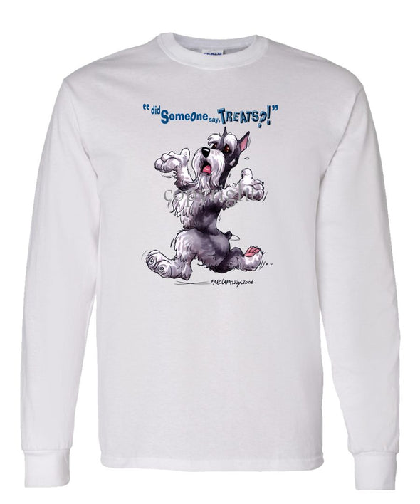 Schnauzer - Treats - Long Sleeve T-Shirt