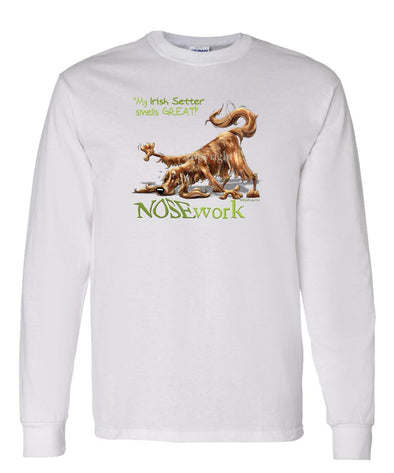 Irish Setter - Nosework - Long Sleeve T-Shirt