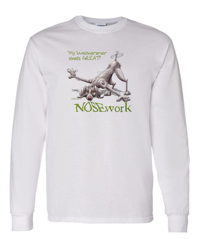 Weimaraner - Nosework - Long Sleeve T-Shirt