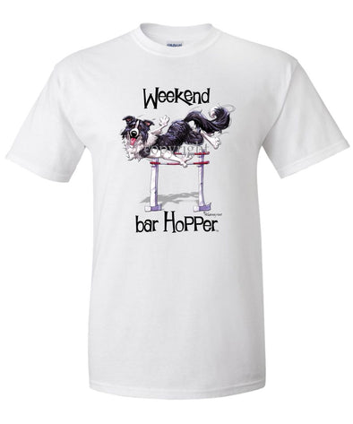 Border Collie - Weekend Barhopper - T-Shirt