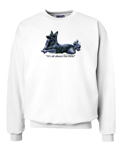 Belgian Sheepdog - All About The Dog - Sweatshirt