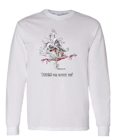 Chinese Crested - Ballet - Mike's Faves - Long Sleeve T-Shirt