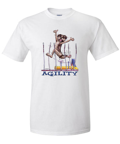 Border Terrier - Agility Weave II - T-Shirt