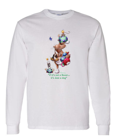 Boxer - Not Just A Dog - Long Sleeve T-Shirt