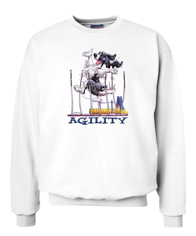 English Springer Spaniel - Agility Weave II - Sweatshirt