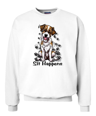 Jack Russell Terrier - Sit Happens - Sweatshirt