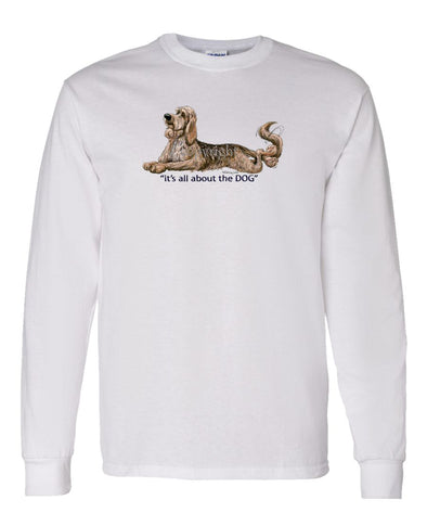 Otterhound - All About The Dog - Long Sleeve T-Shirt