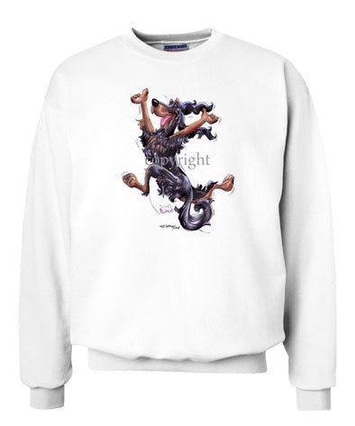 Gordon Setter - Happy Dog - Sweatshirt