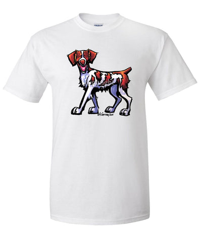 Brittany - Cool Dog - T-Shirt