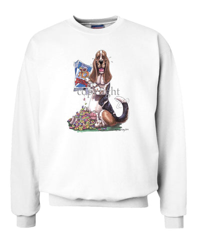 Basset Hound - Cereal Box - Caricature - Sweatshirt