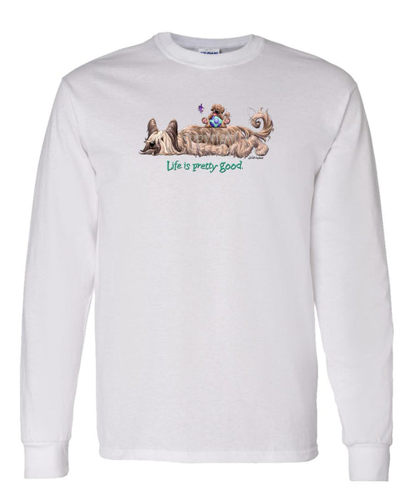 Briard - Life Is Pretty Good - Long Sleeve T-Shirt