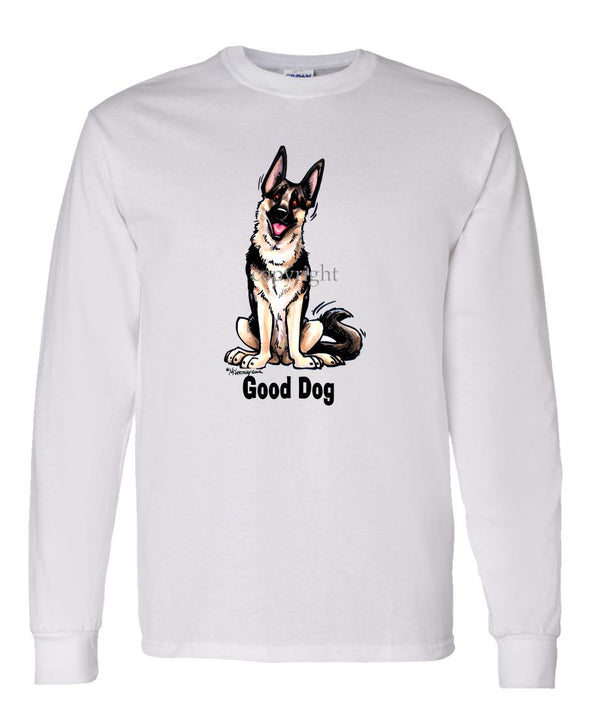 German Shepherd - Good Dog - Long Sleeve T-Shirt